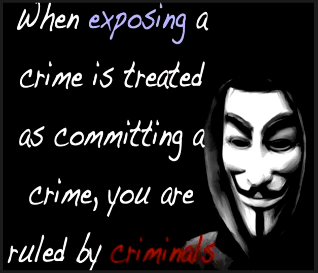 YOU ARE RULED BY CRIMINALS